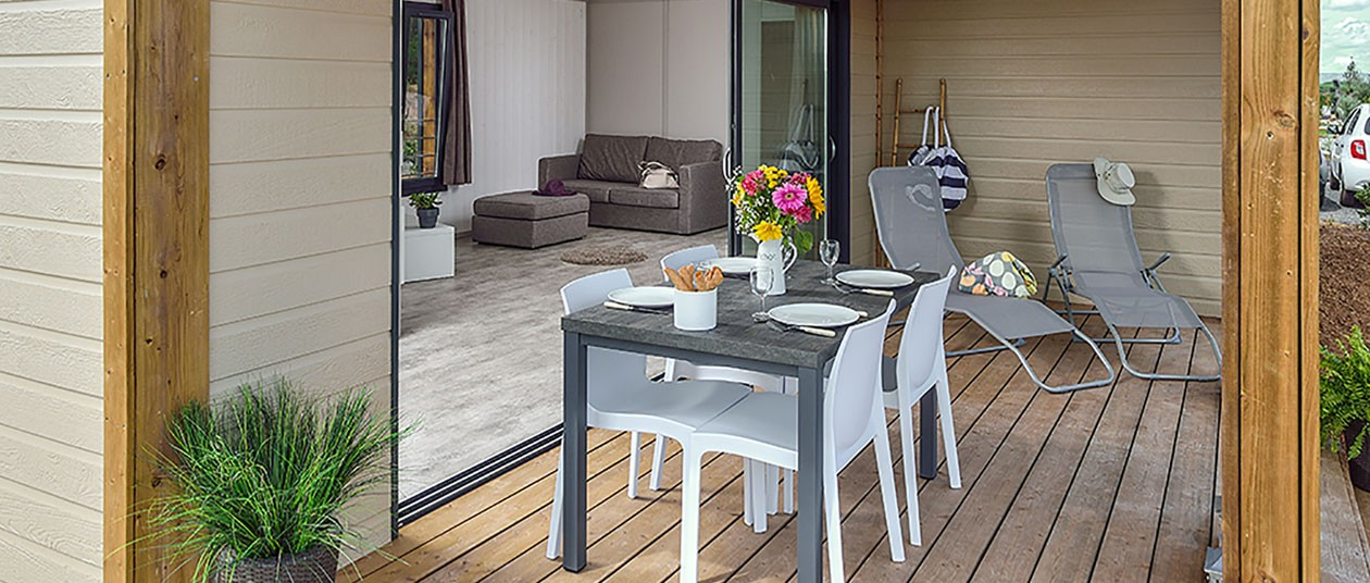 Terrasse chalet 6 pers